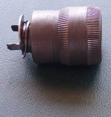 Side view of clutch assembly