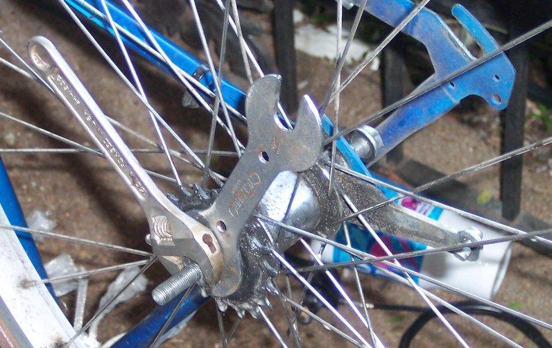 Overhauling A Coaster Brake Bike