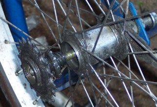 Removing the sprocket