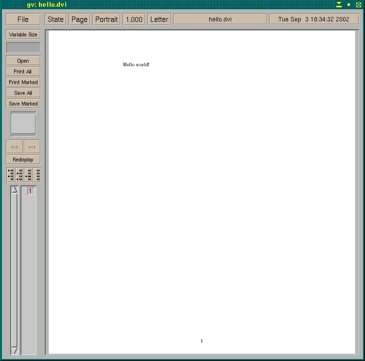 create pdf from postscript file