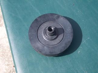 Back of an impeller