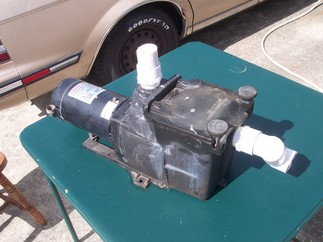 Pump with piping stubs